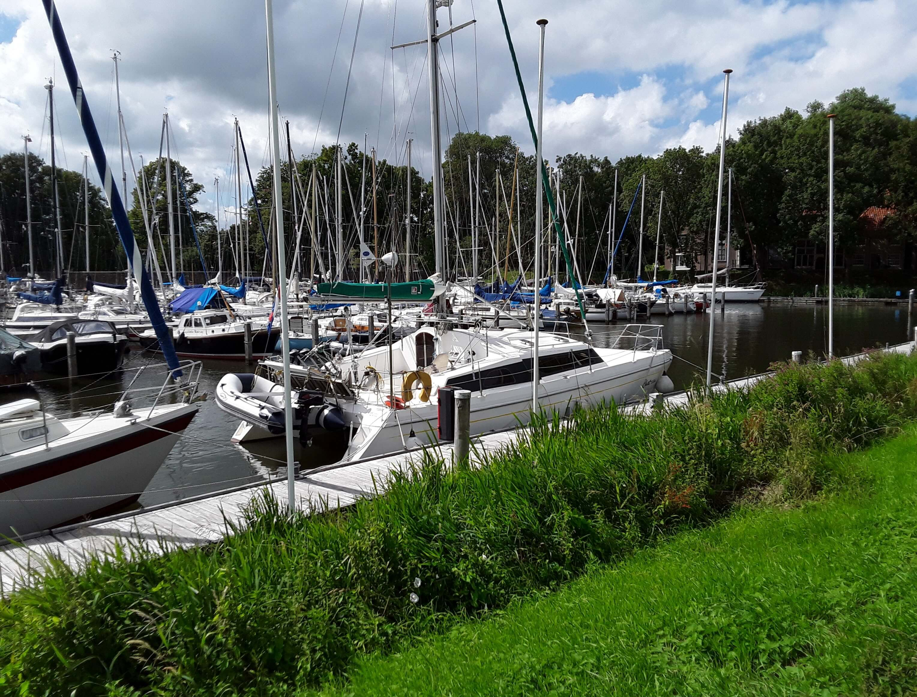 Een mooi plekje in de Grashaven-Hoorn